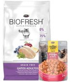 Biofresh gatos adultos 7.5Kg + saché de regalo (Exclusivo online)