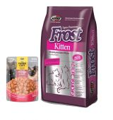 Frost gato kitten 7.5Kg + Saché Three cats (Exclusivo online)