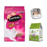 Primogato Blend 10Kg + sanitario Eco Cane + Paté (Exclusivo online)