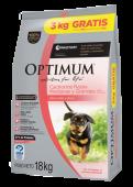 Optimum cachorro razas med y gdes 15 + 3 kg