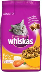 Whiskas Pollo y leche