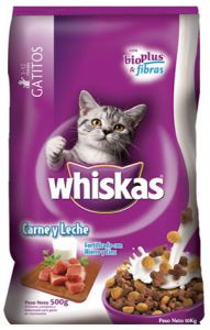 Whiskas Gatitos Carne y leche