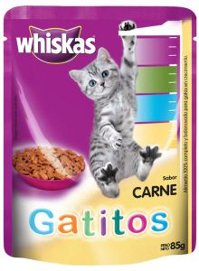 Whiskas Gatitos En Sobre 85 Gr