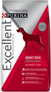 Excellent Adult Dog Chicken y Rice y Large Breed
