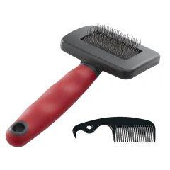 Cepillo removedor de pelos muertos para perros - Peine incluido -  3 tamaños