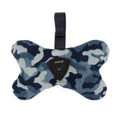 Dispensador bolsas Puppia camuflado azul