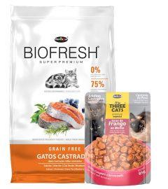 Biofresh gato castrados 7.5Kg + saché de regalo (Exclusivo online)