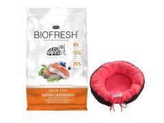 Biofresh gato castrados 7.5Kg + moises de regalo