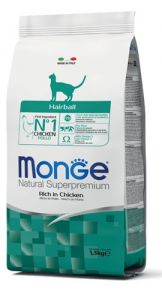 Monge gato hairball with chicken 1.5kg