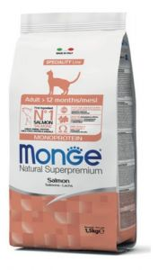 Monge gato adult with salmon 1.5kg