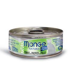 Paté Monge gato tonno del pacifico 80g
