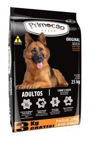 Combo Primocao original adulto 27Kg + hueso peroné jamón + shampoo 2 en 1 (Exclusivo online)