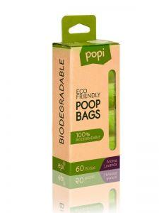 Bolsas biodegradables Popi pack 4 rollos 15 bolsas