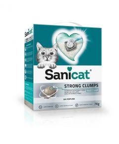 Arena sanitaria Sanicat 3 cajas x 7kg c/u sin aroma (Exclusivo online)