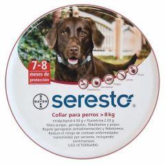 Collar antiparasitario Seresto Bayer para perros