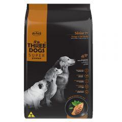 Three Dogs senior 15+2Kg pollo y té verde